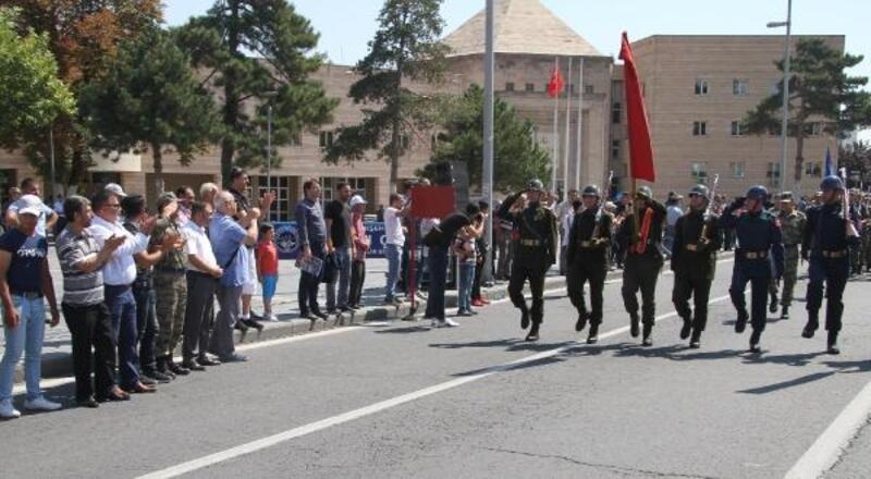 Kayseri'de 30 Ağustos Zafer Bayramı provaları yapıldı