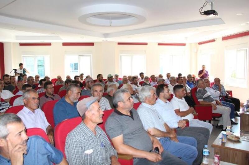 Çiftçilere hibe destekleri anlatıldı