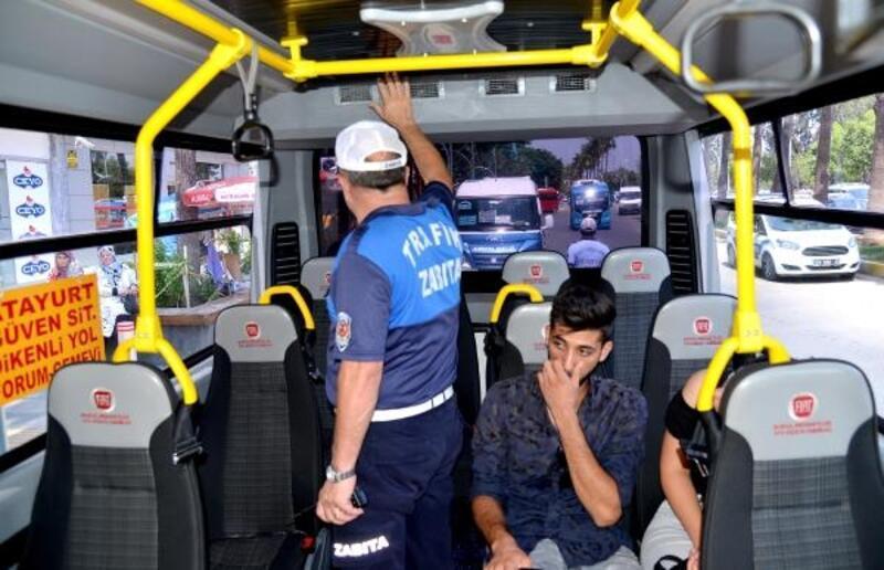 Toplu taşıma araçlarında 'klima ve açık kapı' denetimi
