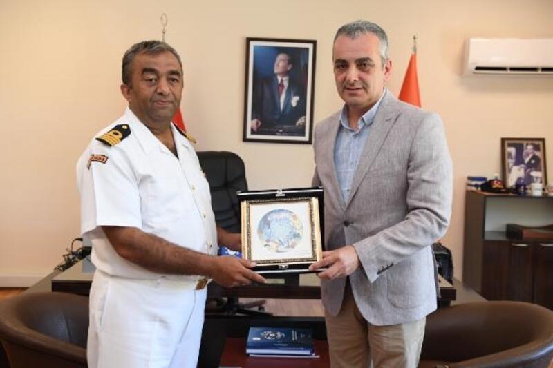 Başkan Esen'den komutanlara ziyaret
