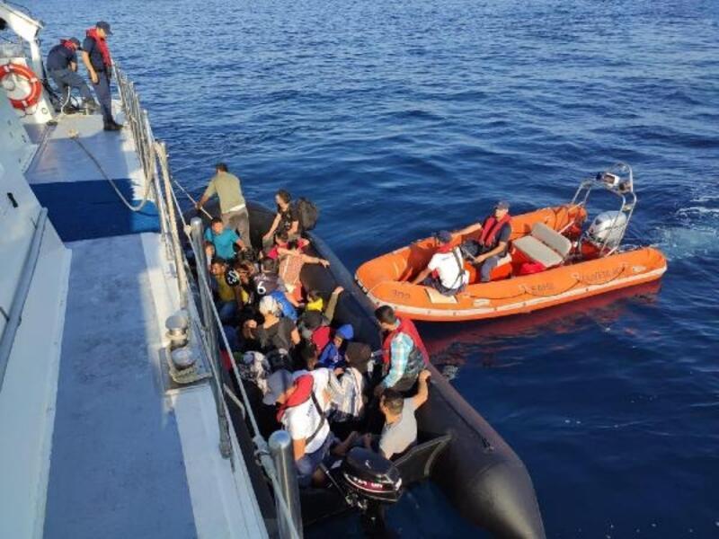Didim'de 26 kaçak göçmen yakalandı