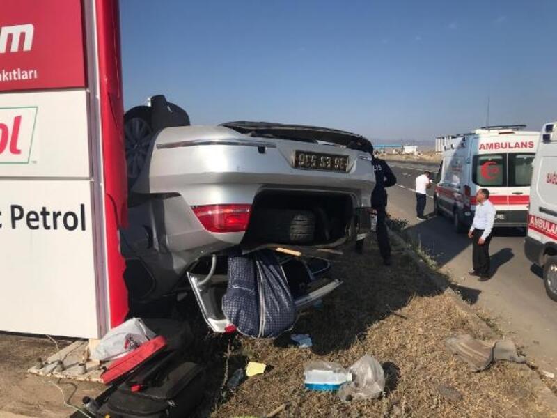 Kars Esnaf Odaları Birliği Başkanı Burulday kazada yaralandı