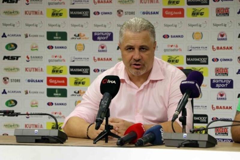 Gazişehir Gaziantep FK - Gençlerbirliği maçının ardından