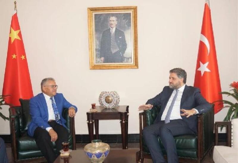 Başkan Büyükkılıç,Türkiye'nin Pekin Büyükelçisini ziyaret etti