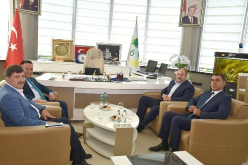 Gülpınar'dan Başkan Beyoğlu'na ziyaret