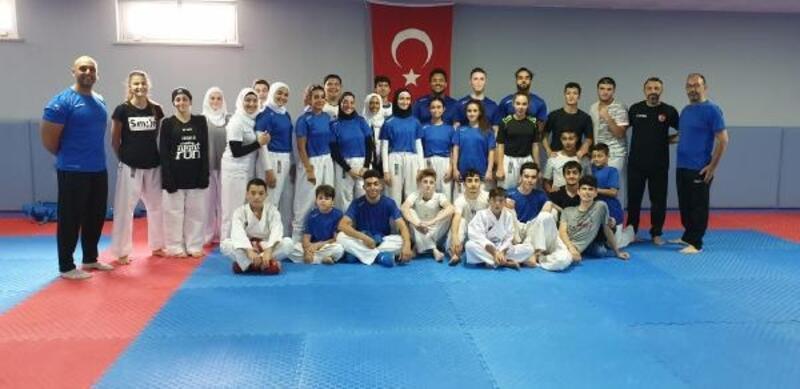 Lübnanlı sporcular, Trabzon'da deneyim kazanıp güç depoluyor