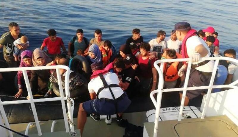 Menderes ve Seferihisar'da kaçak göçmen operasyonu