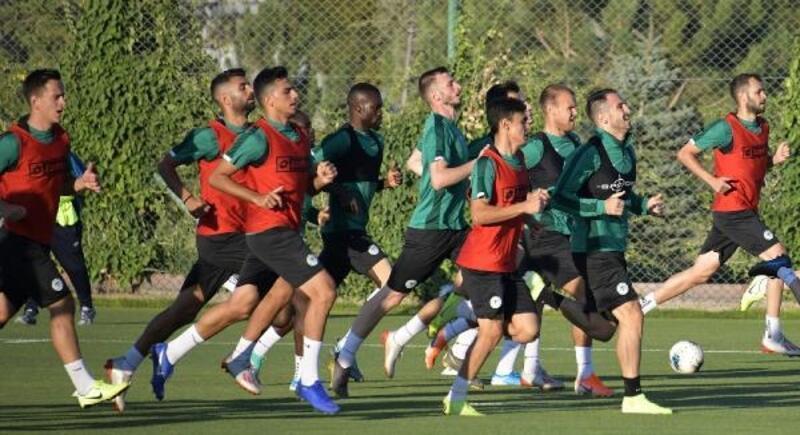 Konyaspor'da Antalyaspor maçının hazırlıkları başladı