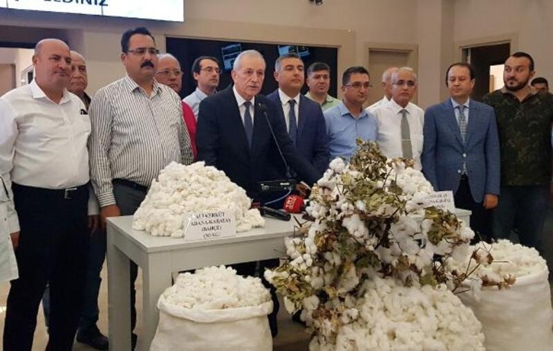 Adana'da yılın ilk kütlü pamuk satışı yapıldı