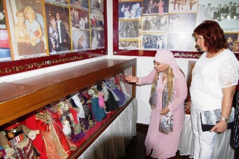 Bedia Akartürk, adının verildiği müzede kadınlarla buluştu