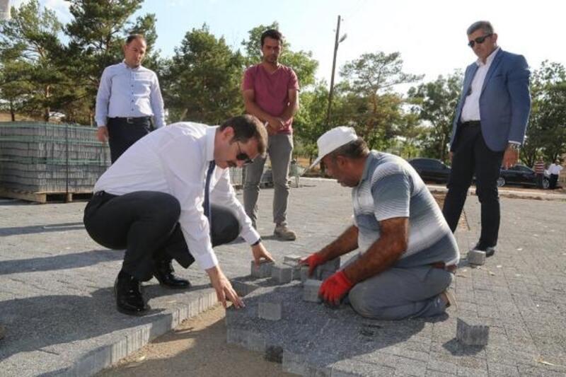 Sivas'ta Atatürk'ün karşılandığı Paşapınarı Anıtı yenileniyor