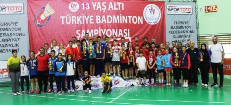 Badmintonda 13 Yaş Altı Türkiye Şampiyonası sona erdi