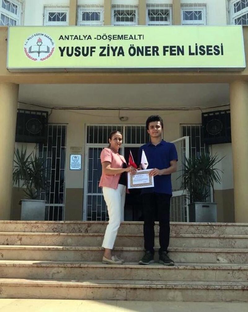 Matematik olimpiyatlarının birincisi Antalya'dan