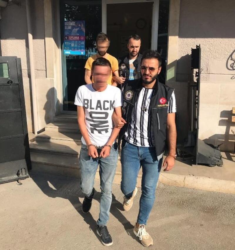 Bursa'da uyuşturucu ticaretinden gözaltına alınan 2 kişiden 1'i tutuklandı