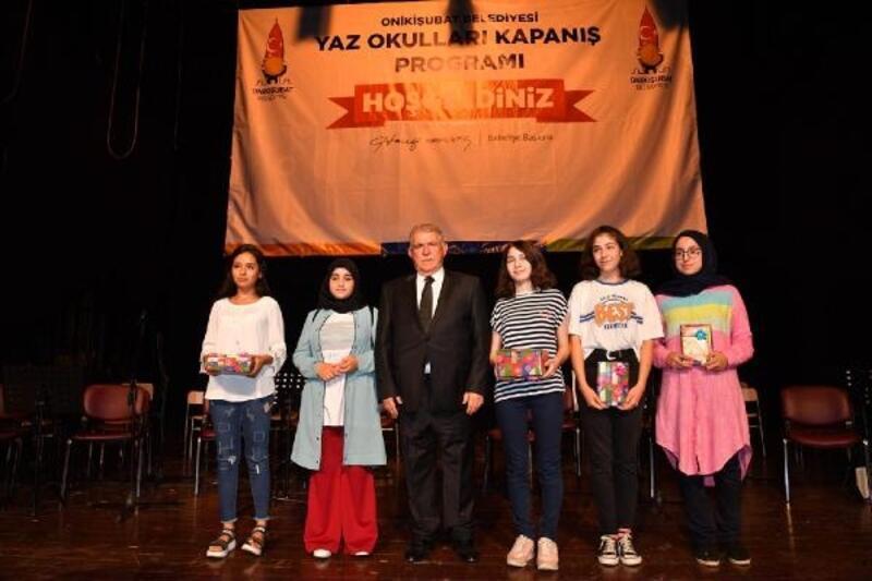 Onikişubat Belediyesi'nin yaz okulları sona erdi