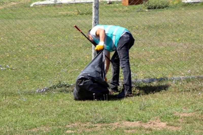 Hükümlüler, Gölköy mesire yerini temizledi