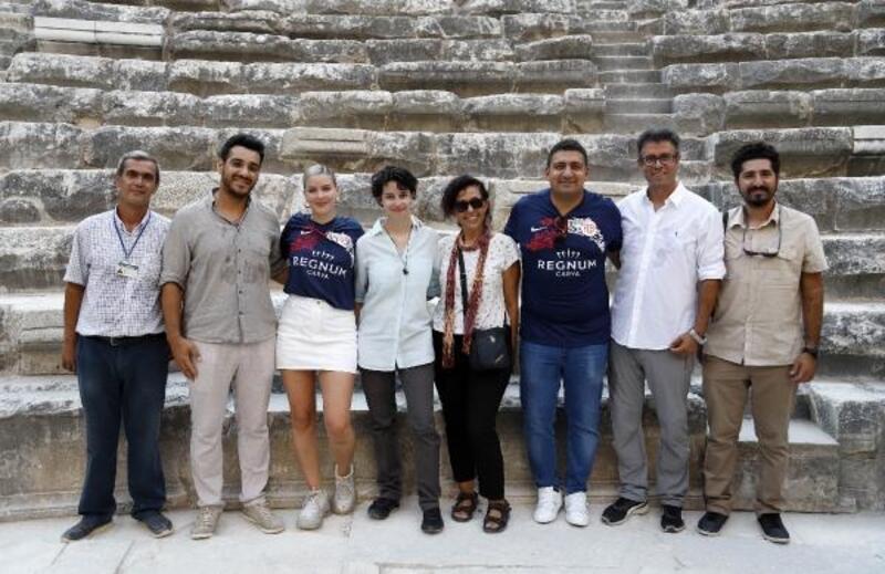 Anne Marie, Aspendos ve Antalya'ya hayran kaldı