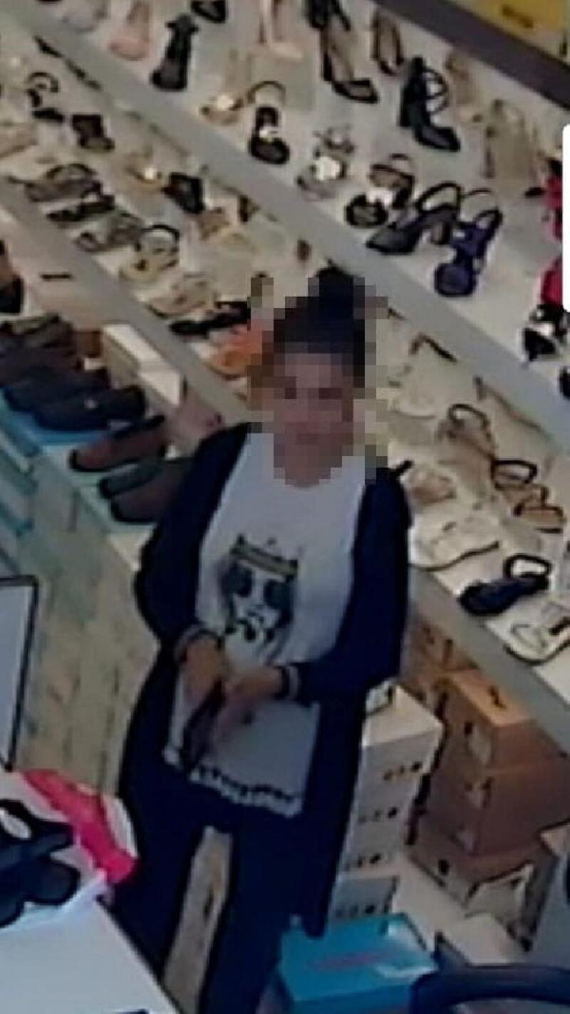 Pendik'te 3 iş yerinde hırsızlık yapan kadın kamerada
