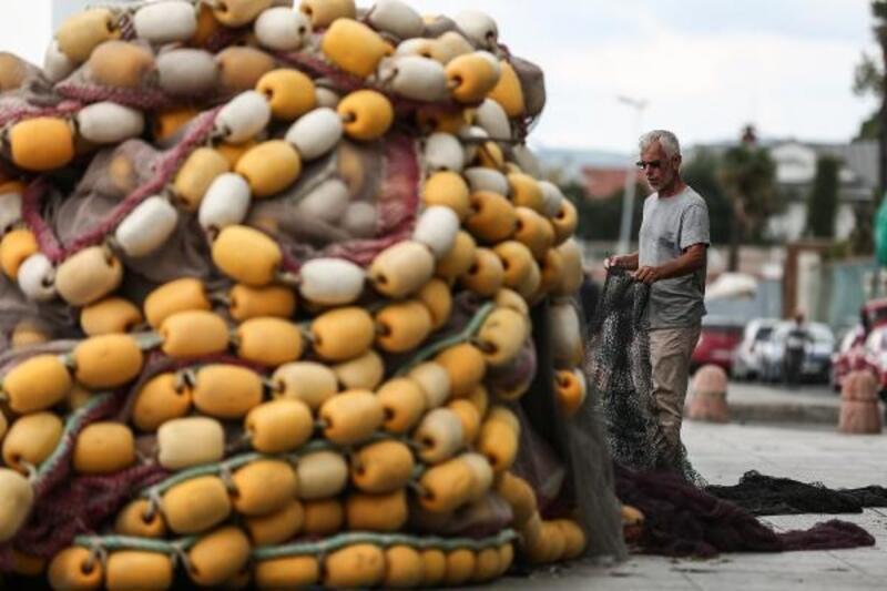 Av sezonunun başlamasına saatler kala balıkçılar son hazırlıklarını yapıyor