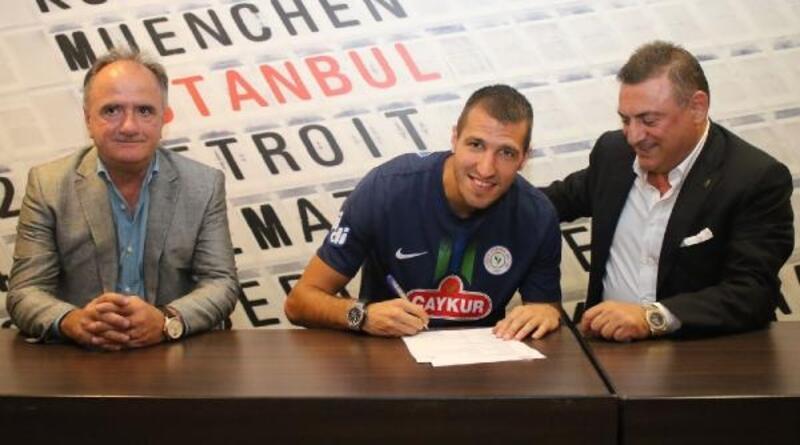 Çaykur Rizespor, Marko Scepovic'i transfer etti