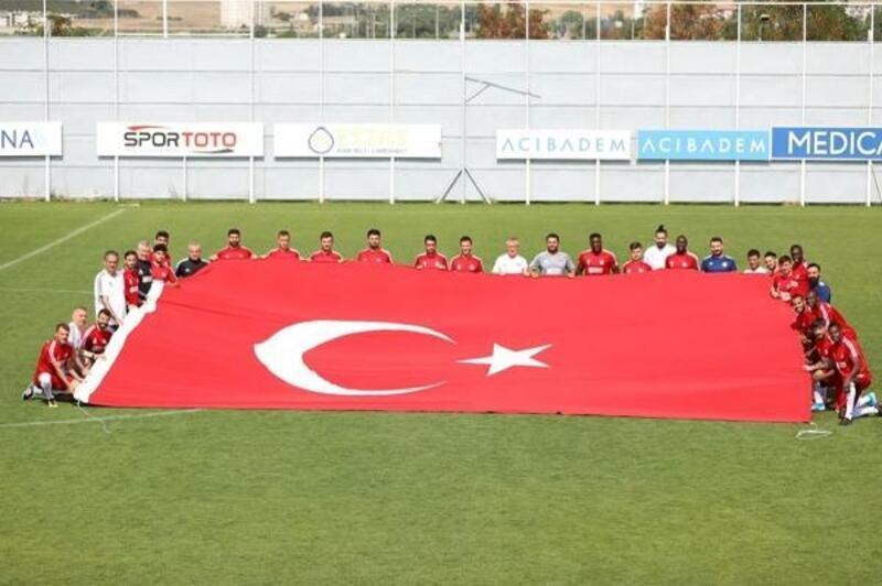Demir Grup Sivasspor Gazişehir Gaziantep maçı hazırlıklarını sürdürdü