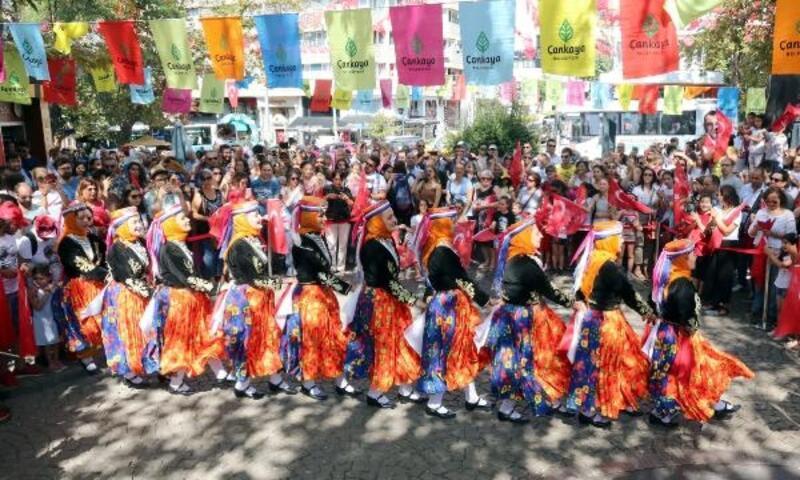 Çankaya'da Zafer Bayramı kutlandı