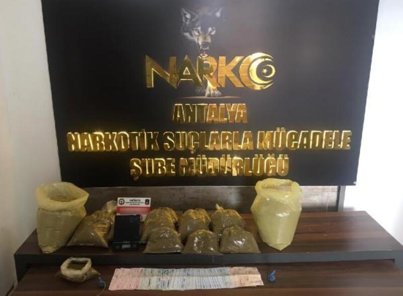 Antalya'da uyuşturucudan 4 kişi tutuklandı