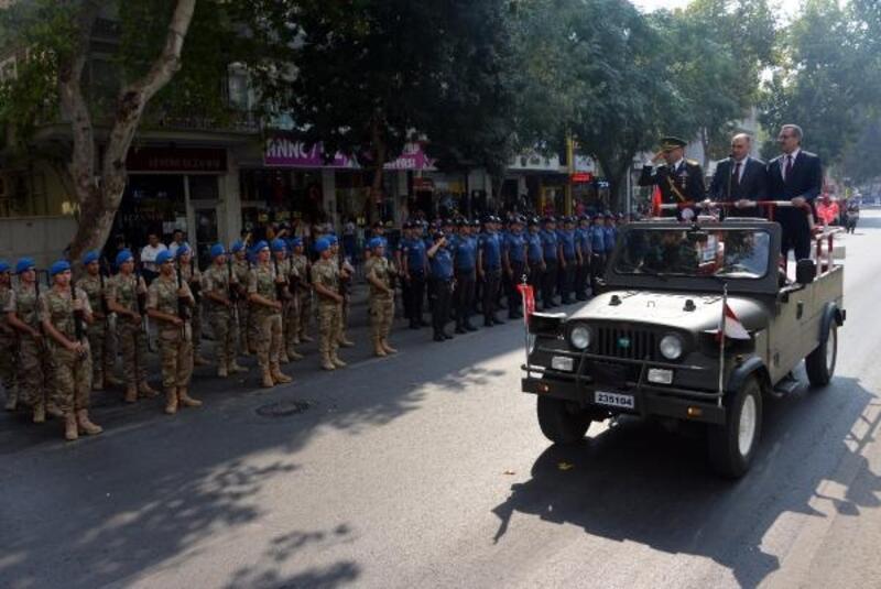 Kahramanmaraş'ta 30 Ağustos törenlerle kutlandı