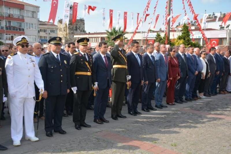 Sinop'ta 30 Ağustos Zafer Bayramı kutlandı