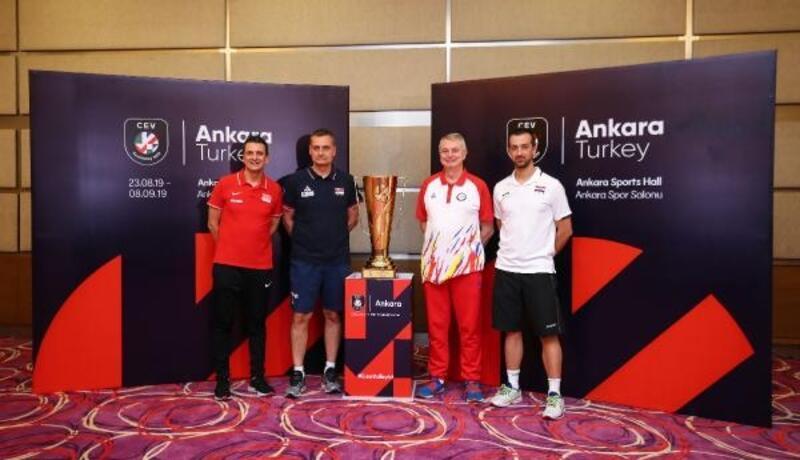 Avrupa Voleybol Şampiyonası son 16 turunun medya günü düzenlendi