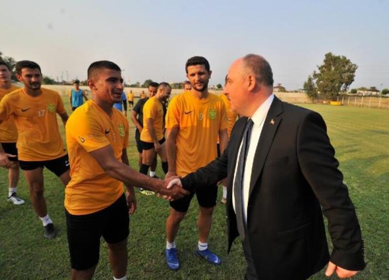 Vali Coşkun'dan Osmaniyespor FK'ya ziyaret