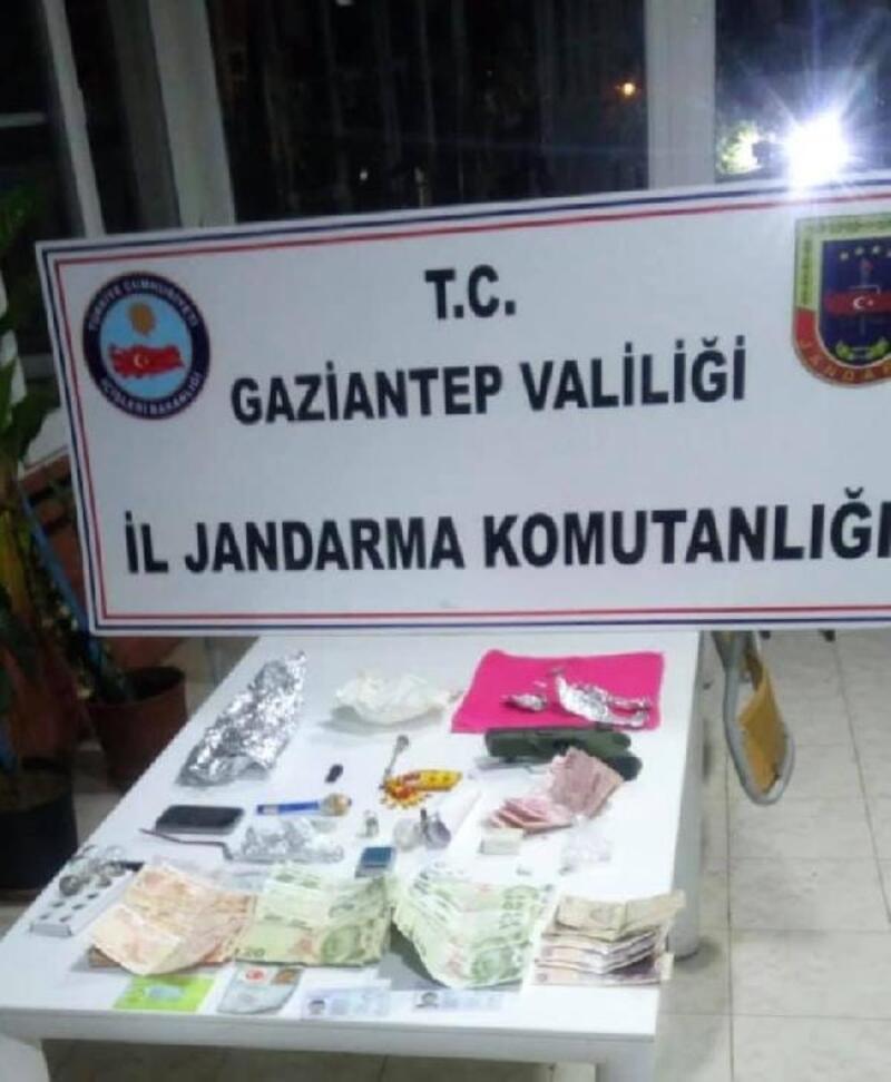 Gaziantep'te uyuşturucu ticaretine 2 tutuklama