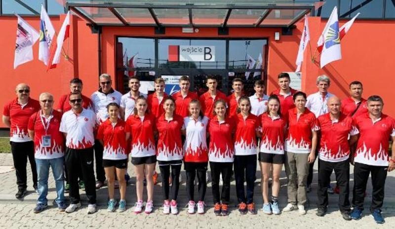 17 Yaş Badminton Milli Takımı, Avrupa Şampiyonası'nda