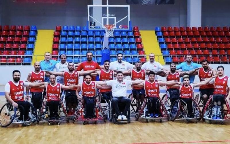 Tekerlekli Sandalye Basketbol Takımı, Avrupa Şampiyonası'na galibiyetle başladı