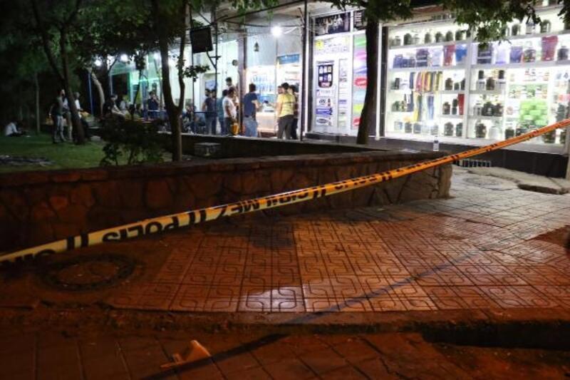 Diyarbakır'da kardeşlerin silahlı kavgası: 1 yaralı