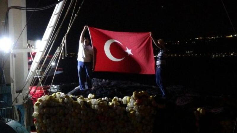 Karamürselli balıkçılar 'Vira Bismillah' dedi