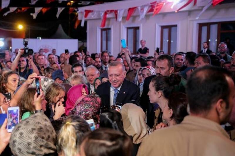 Cumhurbaşkanı Erdoğan, balık sezonu açılışına katıldı