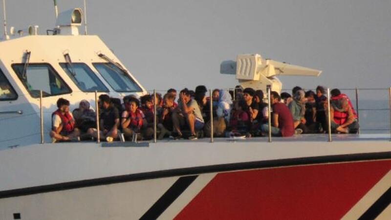 Çanakkale'de 280 kaçak göçmen yakalandı