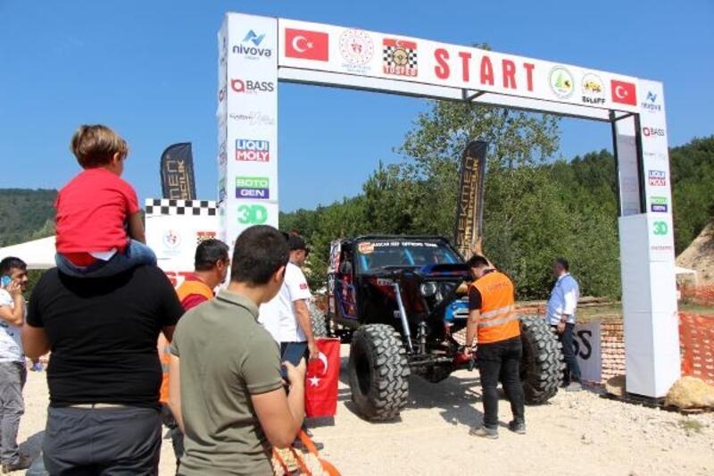 Türkiye Trial Şampiyonası Bolu'da start aldı