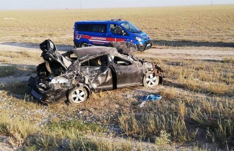 Nişan yolunda kaza yaptılar: 3'ü çocuk, 7 yaralı
