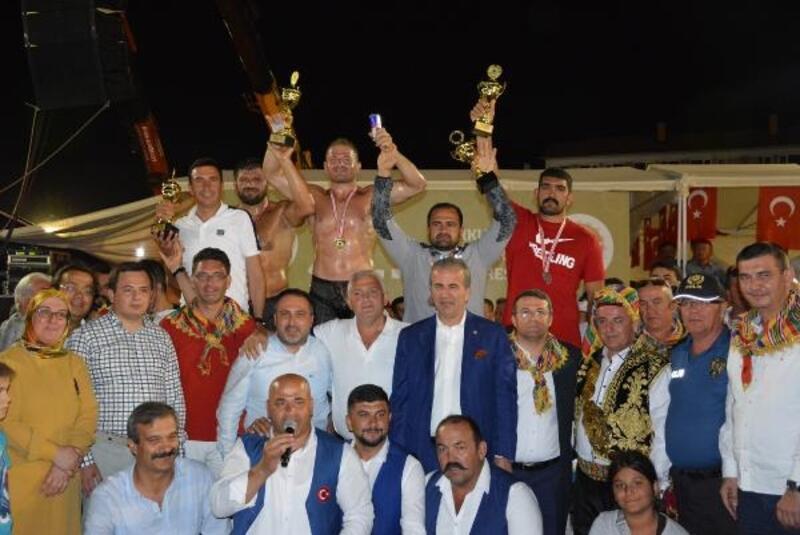 Altın Kiraz'ın başpehlivanı İsmail Balaban