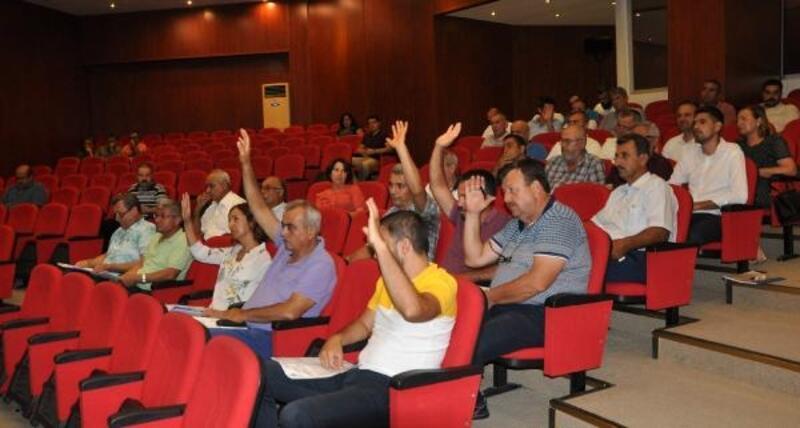 Gazipaşa Belediyesi'nde eylül toplantısı