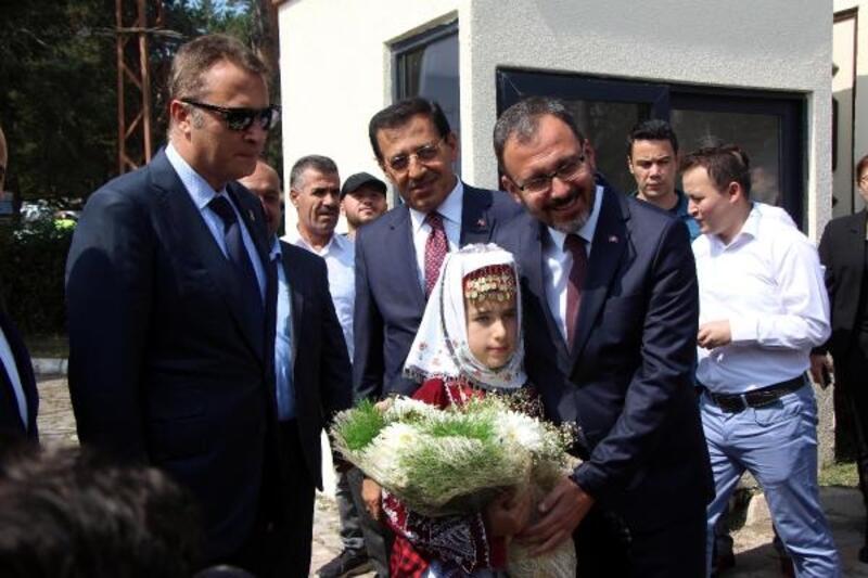 Beşiktaş'ın Gerede tesisleri açıldı