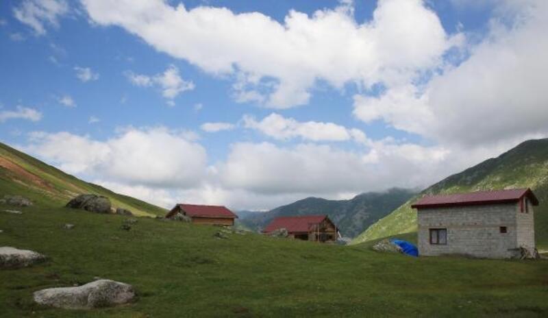 Karadeniz yaylalarında 'bungalov' furyası