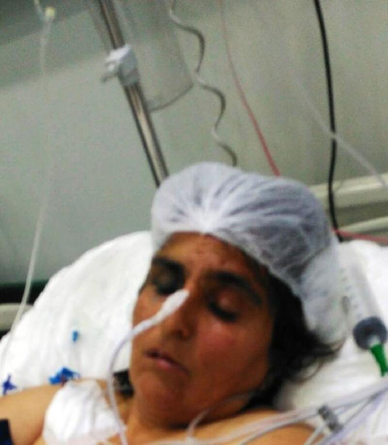 Eşini öldüresiye döven o koca tutuklandı