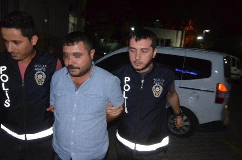 Bankaya ateş eden işportacı gözaltına alındı