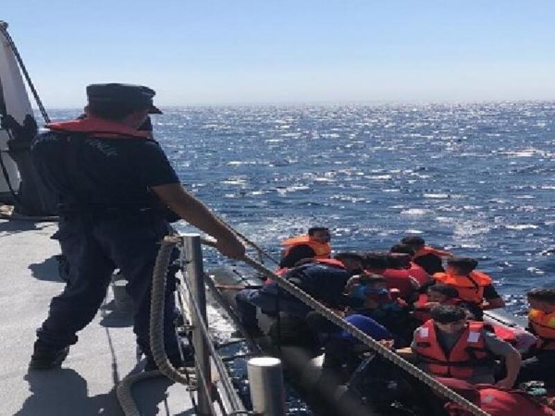 Edirne'de 32 kaçak göçmen yakalandı