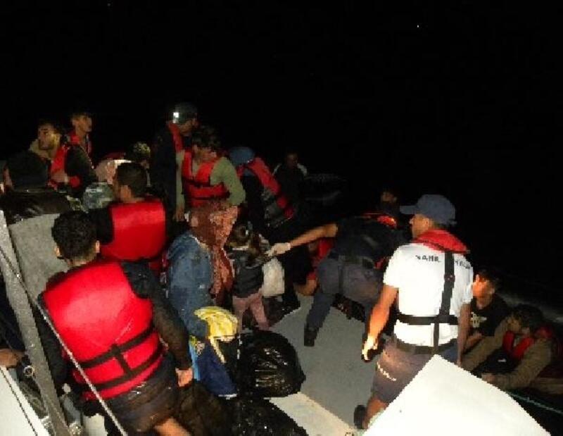 Çanakkale'de 92'si çocuk, 225 kaçak göçmen yakalandı