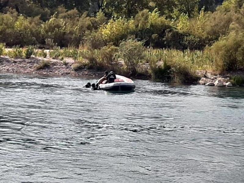 Irmağa giren Suriyeli boğuldu