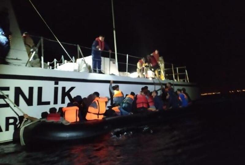 Edirne'de 70 kaçak göçmen yakalandı
